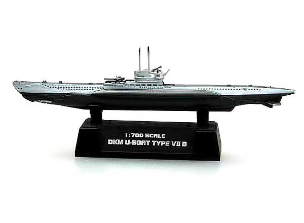 German Type Vii R U-Boat (1:700)