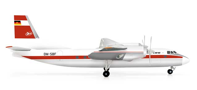 Interflug AN-24V (1:200)