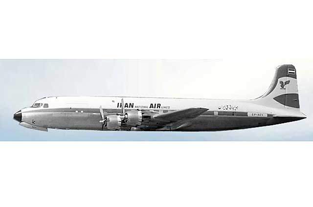 Iran Air DC-6 EP-AEV (1:400)