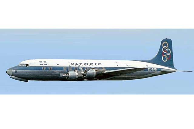 Olympic Airways DC-6 SX-DAD (1:400)