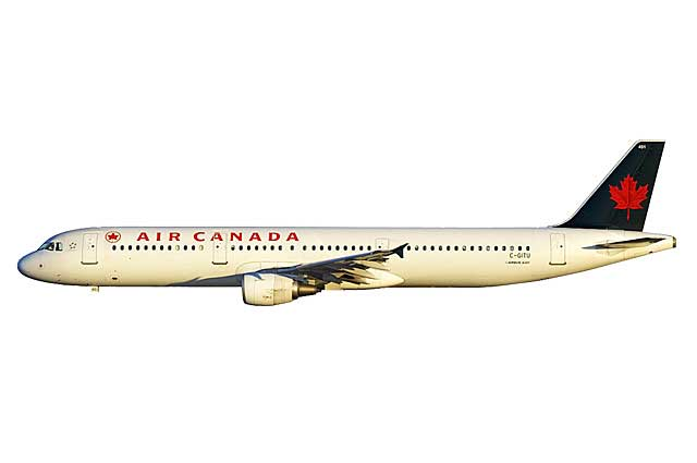 Air Canada A321 C-GITU (1:400) - Preorder item, order now for future delivery