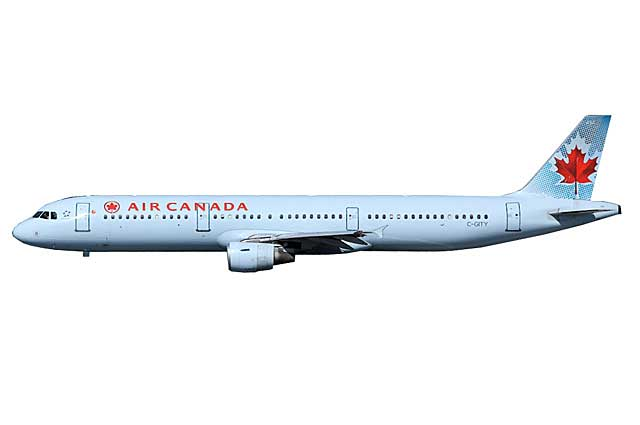 Air Canada A321 C-GITY (1:400) - Preorder item, order now for future delivery
