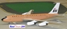 "Braniff International B720 N7081 ""Brown"" (1:200)"