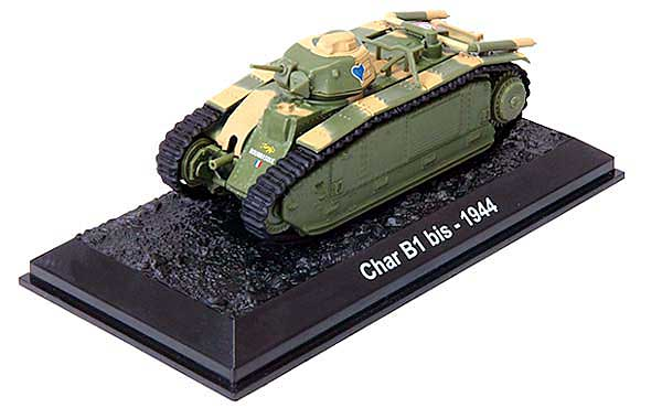"Char B1 bis, ""Bourrasque,"" French Army, Battle of France, Spring 1940 (1:72)"