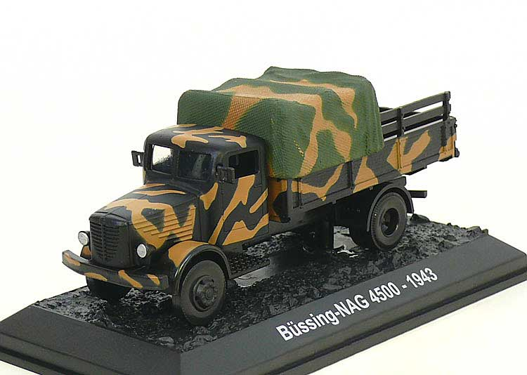 Buessing-NAG 4500, German Army, Eastern Front, 1943 (1:72)
