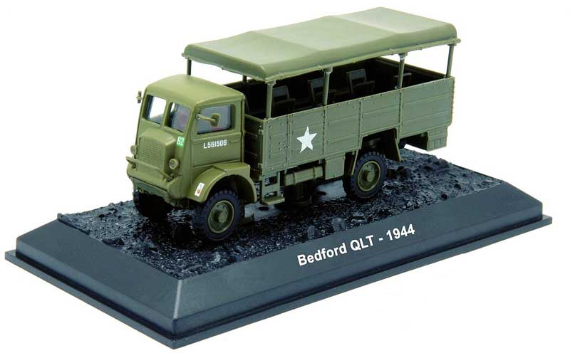 Bedford QLT, 1st Polish Armored Division, Western Front, 1944 (1:72)