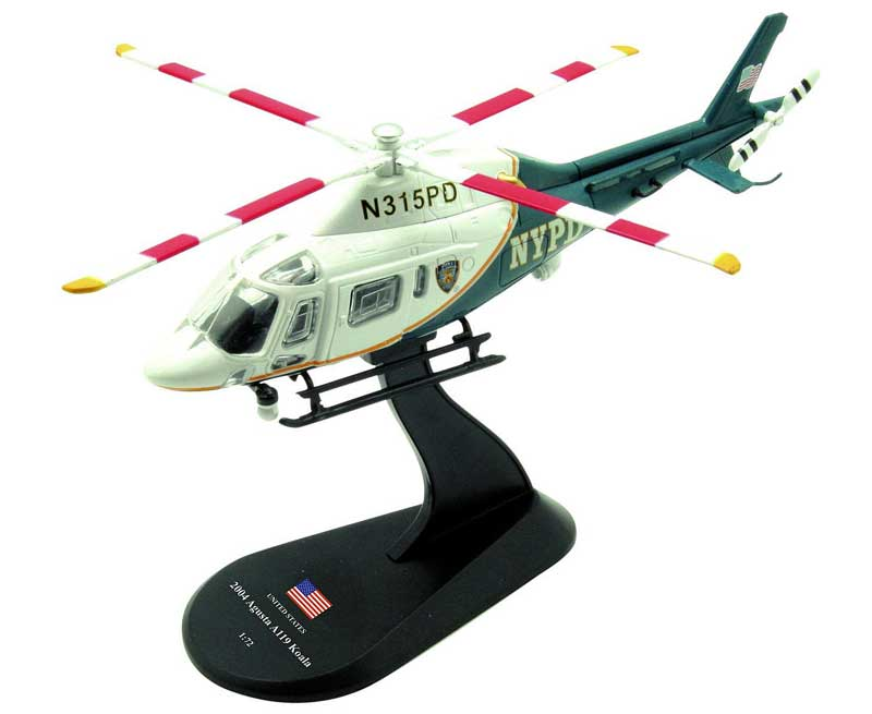 Agusta A119 Koala, New York City Police Department, 2004 (1:72)