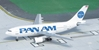 Pan American World Airways A310-222, N801PA, 1990's Billboard Colors (1:400)