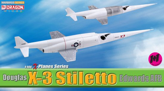 Douglas X-3 Stiletto (2 replicas) (1:144)