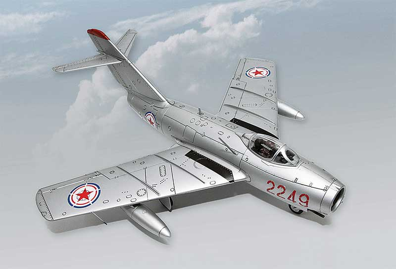 "MiG-15bis, ""Wang Hai,"" PLAAF, 3rd Fighter Division, Korea, 1953 (1:18)"