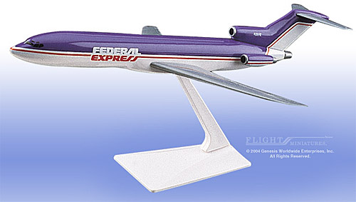 FedEx 727-200, Old Colors (1:200)