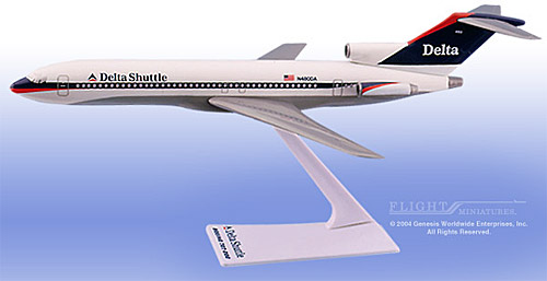Delta Shuttle 727-200 (New Colors) (1:200)