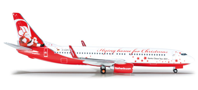 Air Berlin 737-800 (1:500) Flying Home For Christmas - Special Sale Item