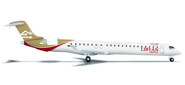 Libyan Airlines CRJ-900 (1:500) 5A-LAL
