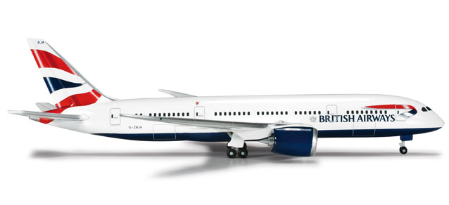 British Airways 787-8 (1:500)
