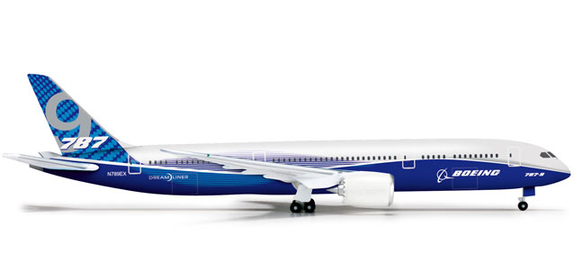 Boeing 787-9 (1:500) Roll Out Livery