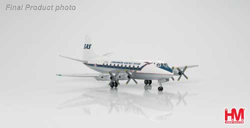 Scandinavian Airlines System Vickers Viscount 700 (1:200)