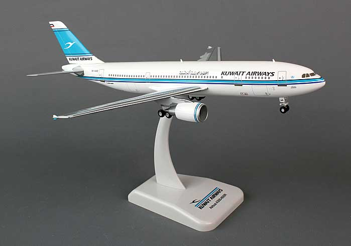 Kuwait A300-600R (1:200) with Gear 9K-AMB