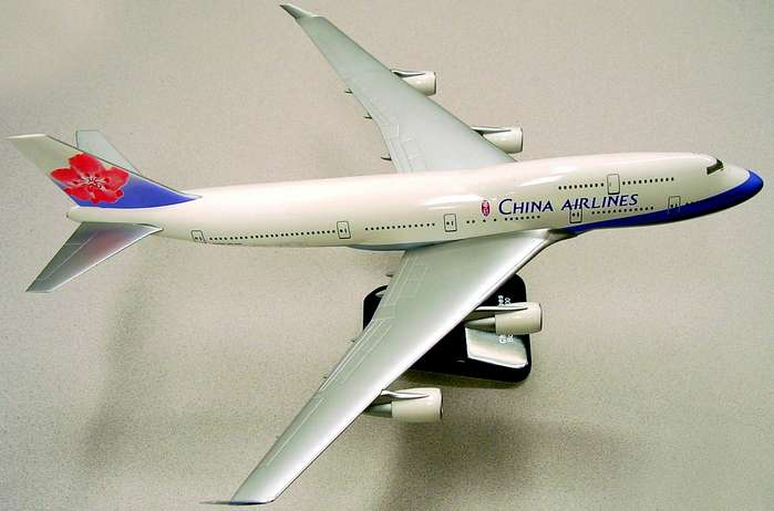 China Airlines B747-400 (1:200) With Gear