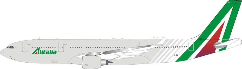 Alitalia Airbus A330-200 EI-DIP (1:200) - Preorder item, Order now for future delivery
