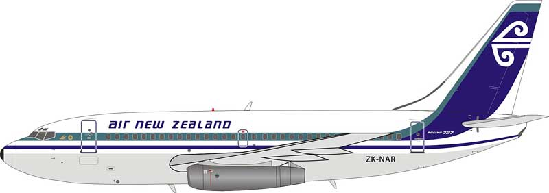 Air New Zealand Boeing 737-200 ZK-NAR (1:200)