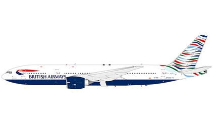 British Airways 777-200 USA Tail (1:200)