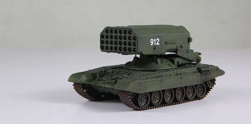 TOS-1 Heavy Flame Thrower (Multiple Rocket Launcher) System, Soviet Army, 1989 (1:72)