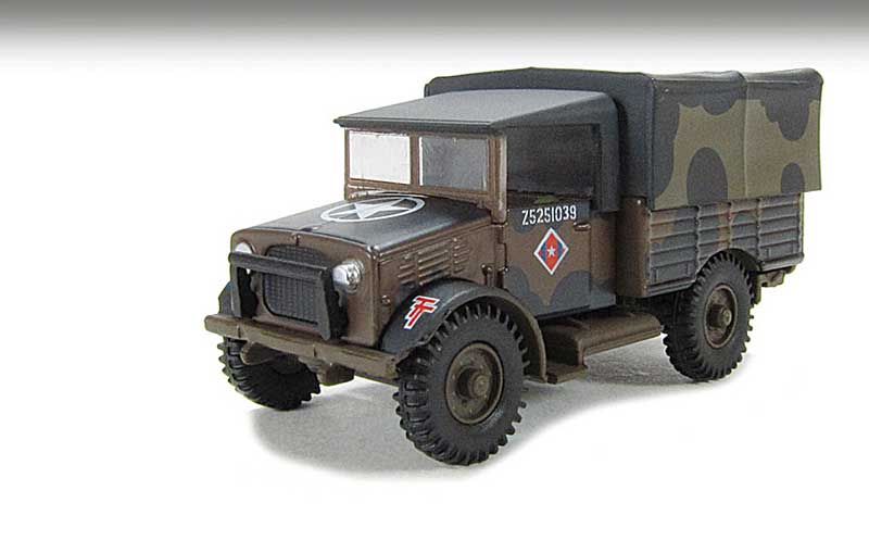 "Bedford MWD Truck British Army, ""Mickey Mouse"" Camoflauge (1:76)"