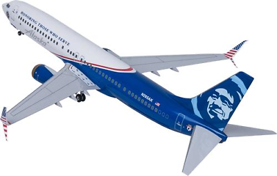 "Alaska 737-900 Veterans Livery ""Honoring Those That Serve"" (1:100)"