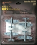 SBD-3 Dauntless Dive Bomber, Set of 4 (1:200) Includes decals - MIL-68203