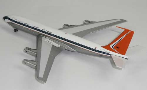 "South African Cargo 707-300B/C ""Polished"" ~ZS-SAH (1:200)"