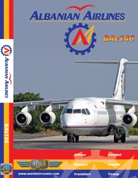 Albania Airlines Bae146 (DVD)