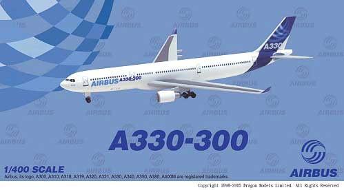 Airbus A330-300 New House Colors (1:400)