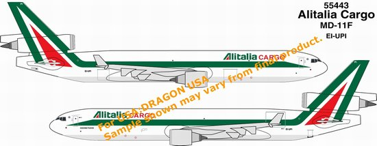 Alitalia Cargo MD-11F ~ EI-UP (1:400)