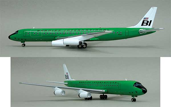 Braniff DC-8-62 N1807 (1:200) - Limited to 100 models