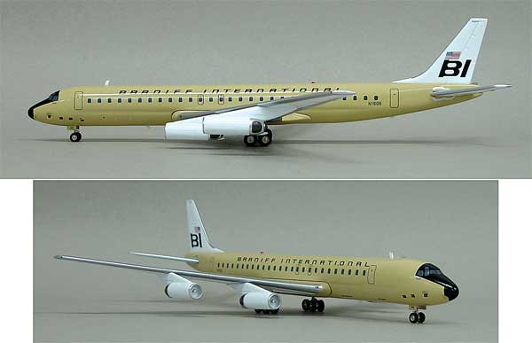 Braniff DC-8-62 N1806 (1:200) - Limited to 100 models