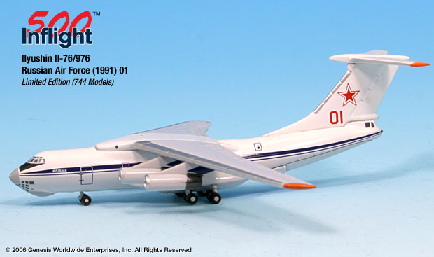 "Russian Air Force Ilyushin IL-76 ""Red 01"" (1:500)"