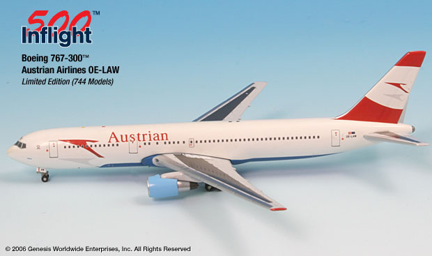 Austrian Airlines 767-300 (1:500)