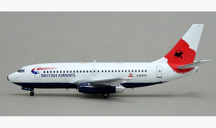 "British Airways 737-200 ""Pause to Remember"" G-BKYG (1:200)"