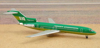 Braniff International 727-200 - Green (1:400)