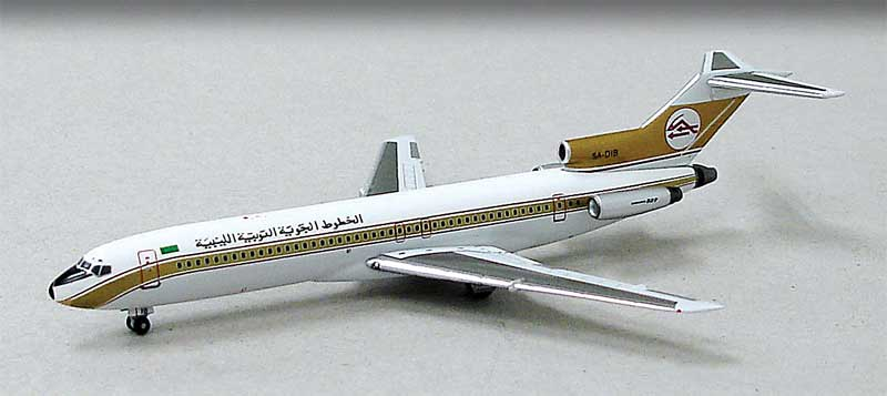 Libyan Arab Airlines 727-200 5A-DIB (1:400) NEW TOOLING!