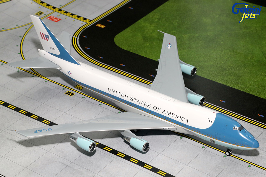 USAF Air Force One B747-200 29000 with Antennas (1:200) - Preorder item, order now for future delivery