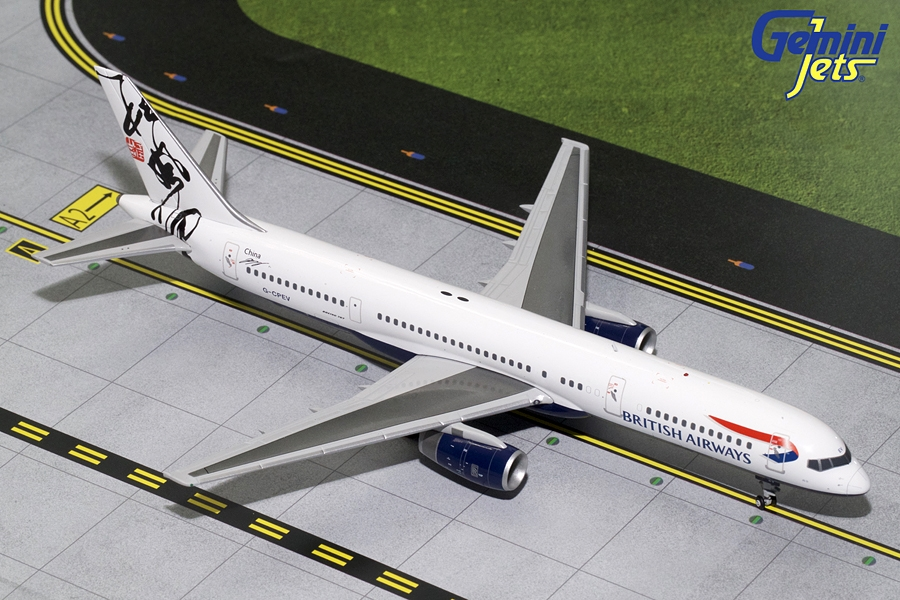 British Airways B757-200 Rendezvous Tail G-CPEV (1:200)