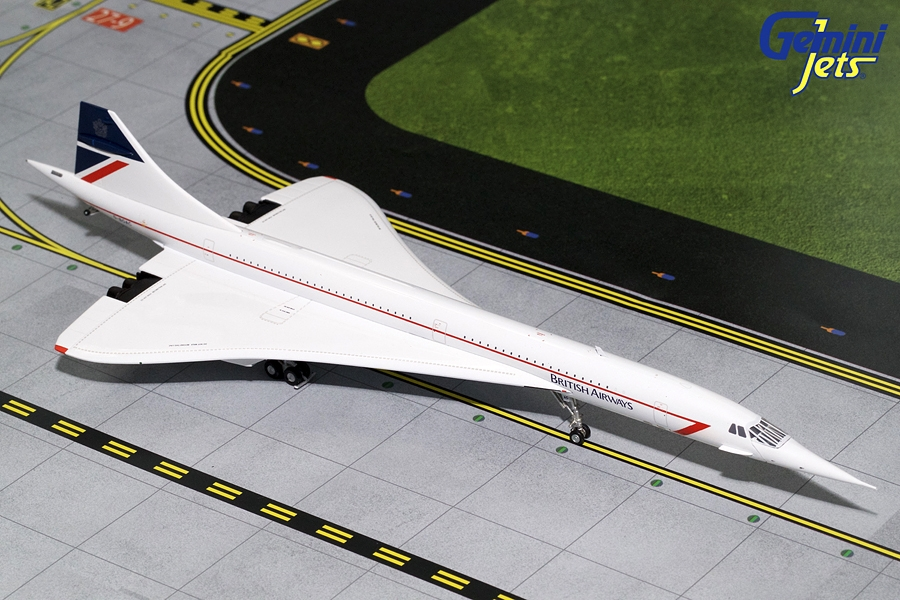 British Airways Concorde (Landor Livery) G-BOAC (1:200)
