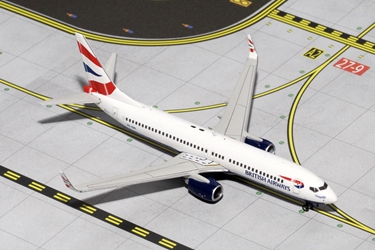 British Airways B737-800W ZS-ZWI (1:400)
