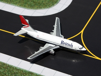 British Airways 737-200 Negis Colors G-BGDS (1:400)