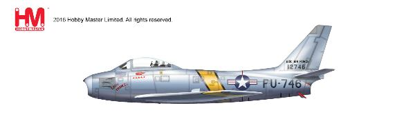 F-86E Sabre, Westcott and Gabreski, 25th FIS/51st FIW, Oct 1951 (1:72) - Preorder item, order now for future delivery