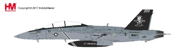 F/A-18F Super Hornet, 166620, VFA-103, USS Eisenhower, 2013 (1:72) - Preorder item, order now for future delivery