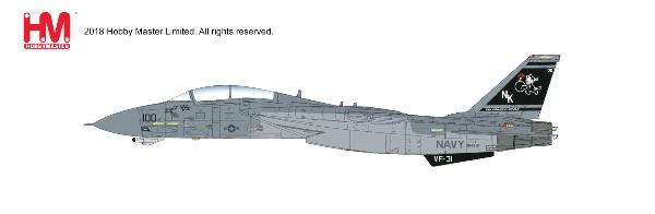 "F-14D Super Tomcat VF-31 CAG, ""Operation Iraqi Freedom"" (1:72) - Preorder item, order now for future delivery"