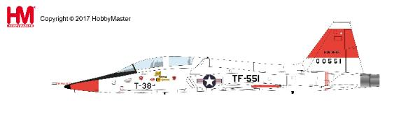 T-38A Talon, Edward Air Force Base, California, 1961 (1:72) - Preorder item, order now for future delivery